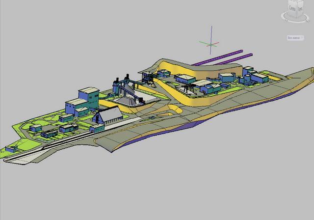 Схема угольного комплекса